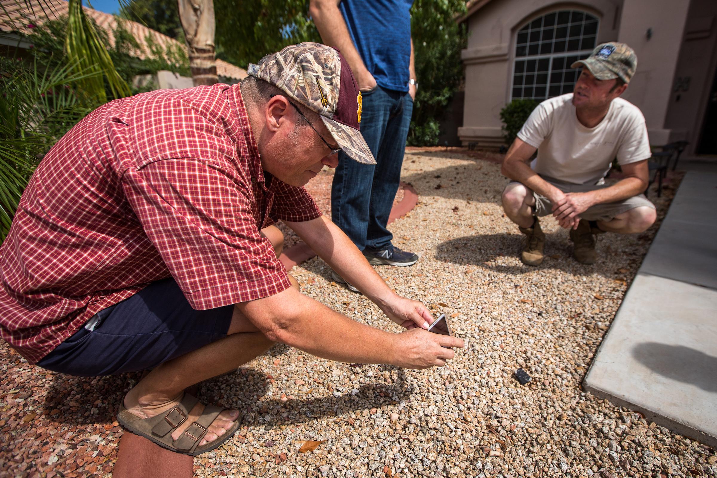 Garvie ASU meteorite fall Glendale
