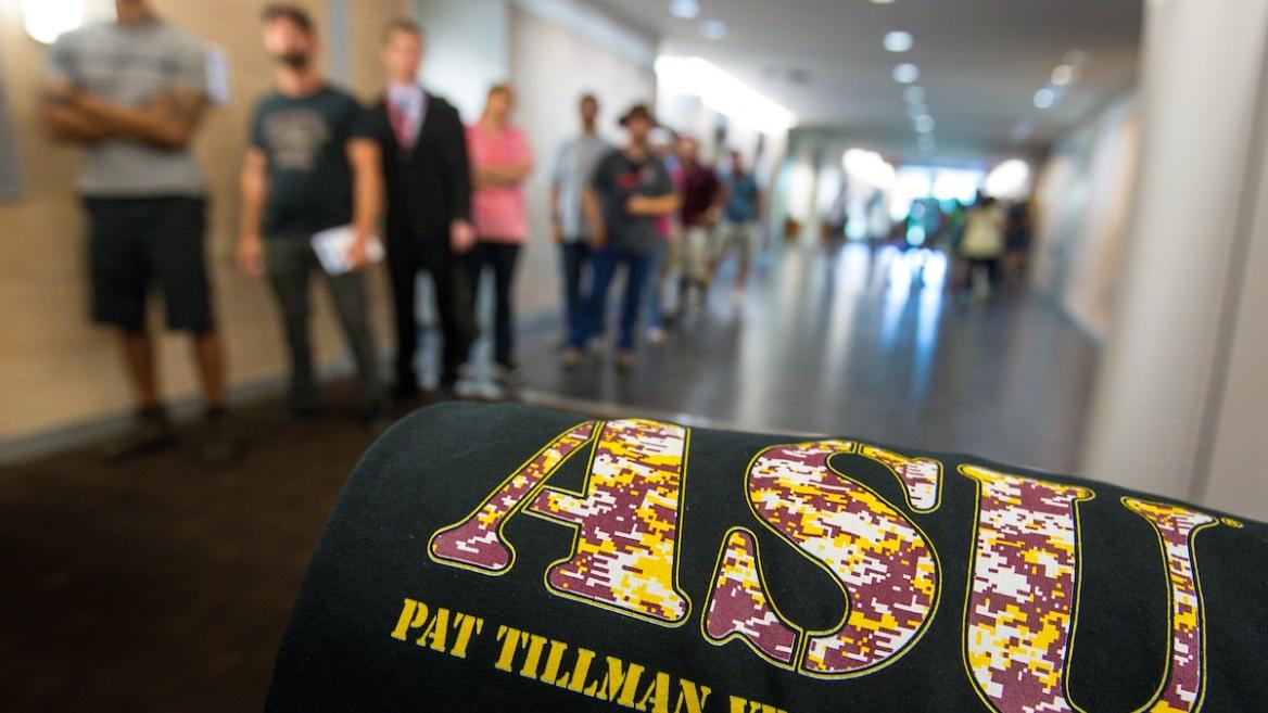 ASU military veterans