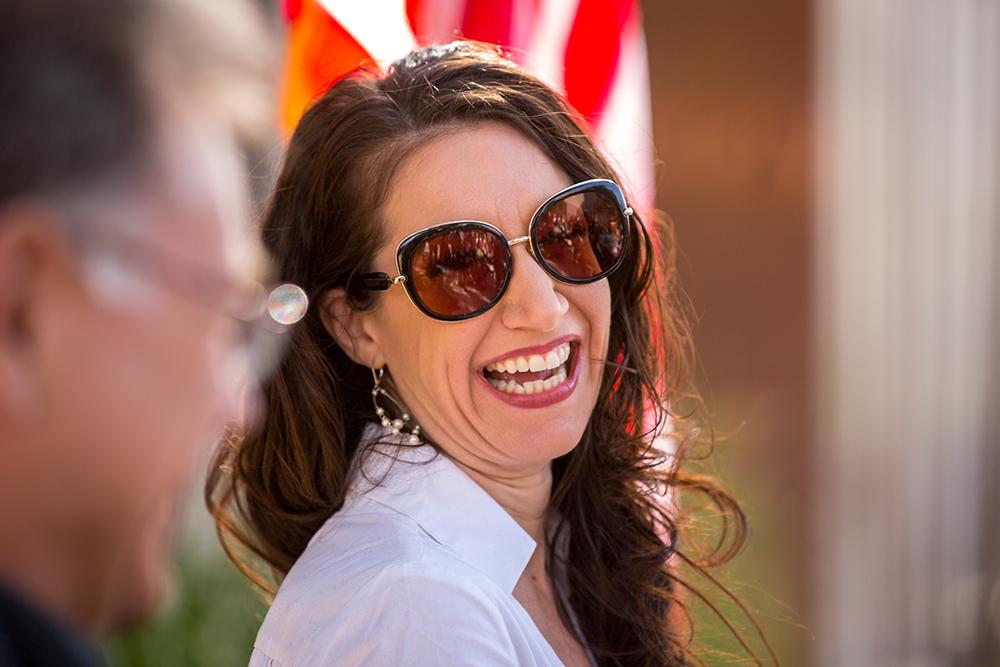 Rosemarie Dombrowski smiles