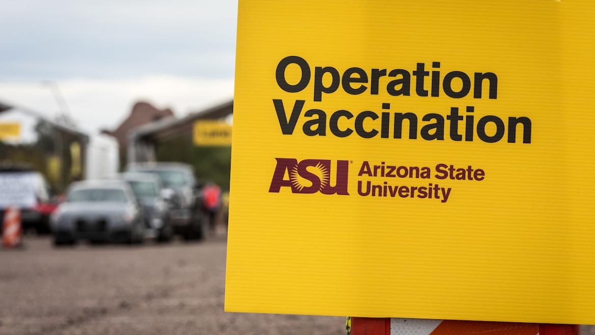 New COVID-19 Vaccination Site at ASU's Phoenix Municipal Stadium
