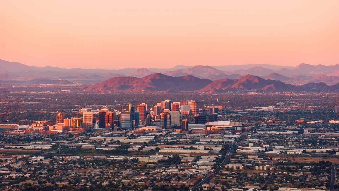 photo of Phoenix skyline