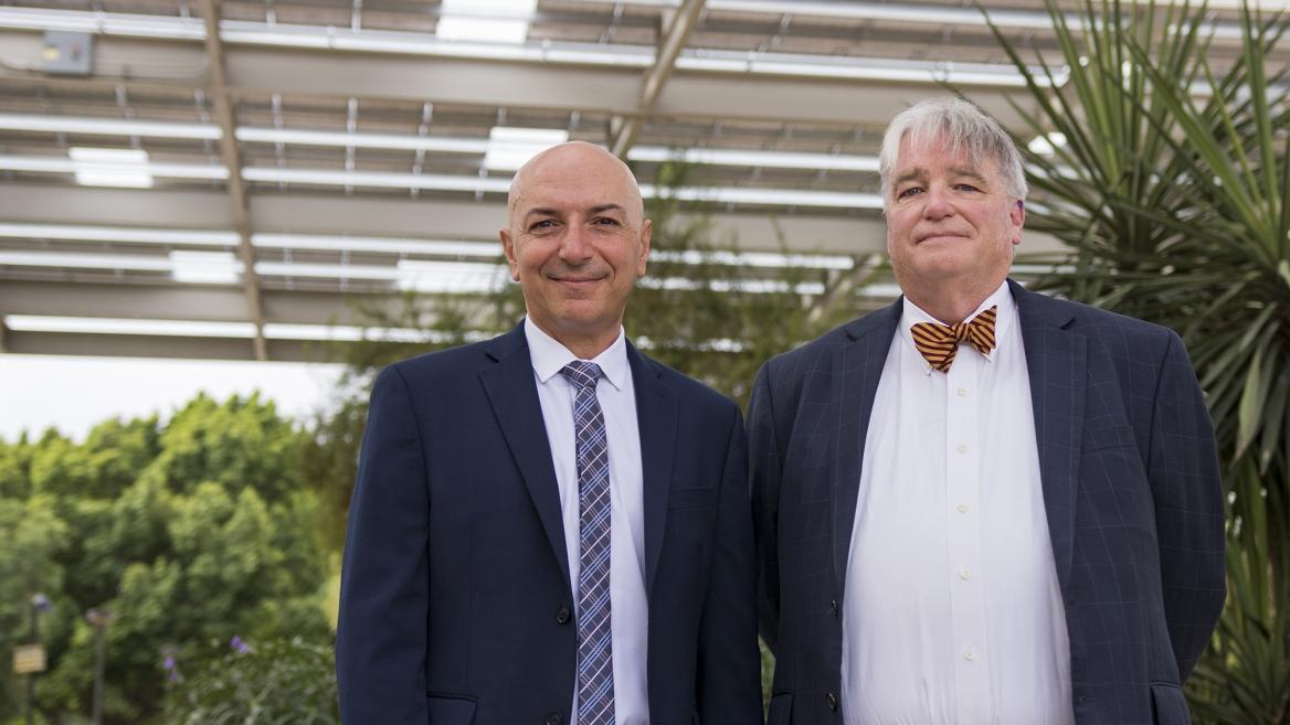 Bertan Bakkaloglu and Dale Rogers, ON Semiconductor Endowed Professors of Engineering and Business
