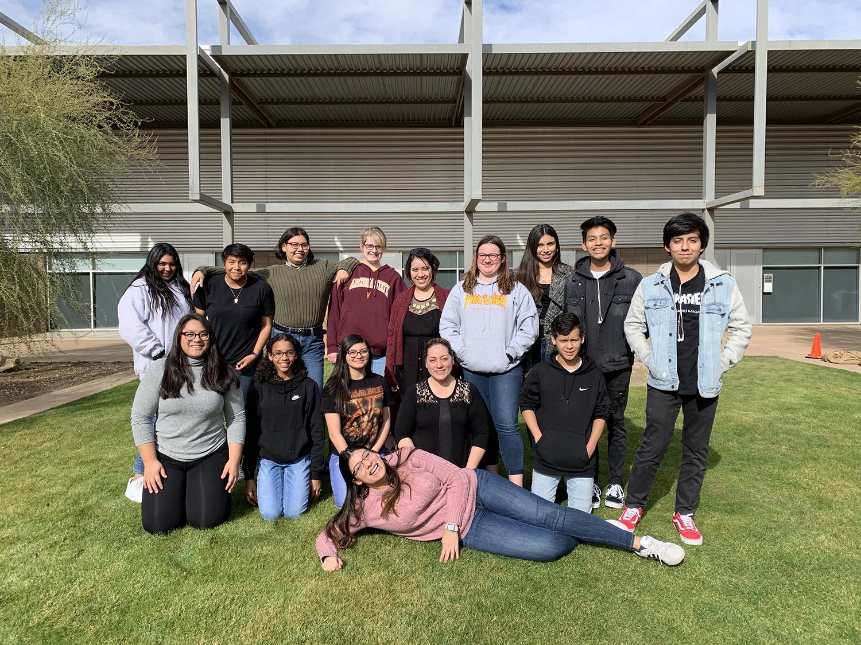 First Star ASU Academy student cohort