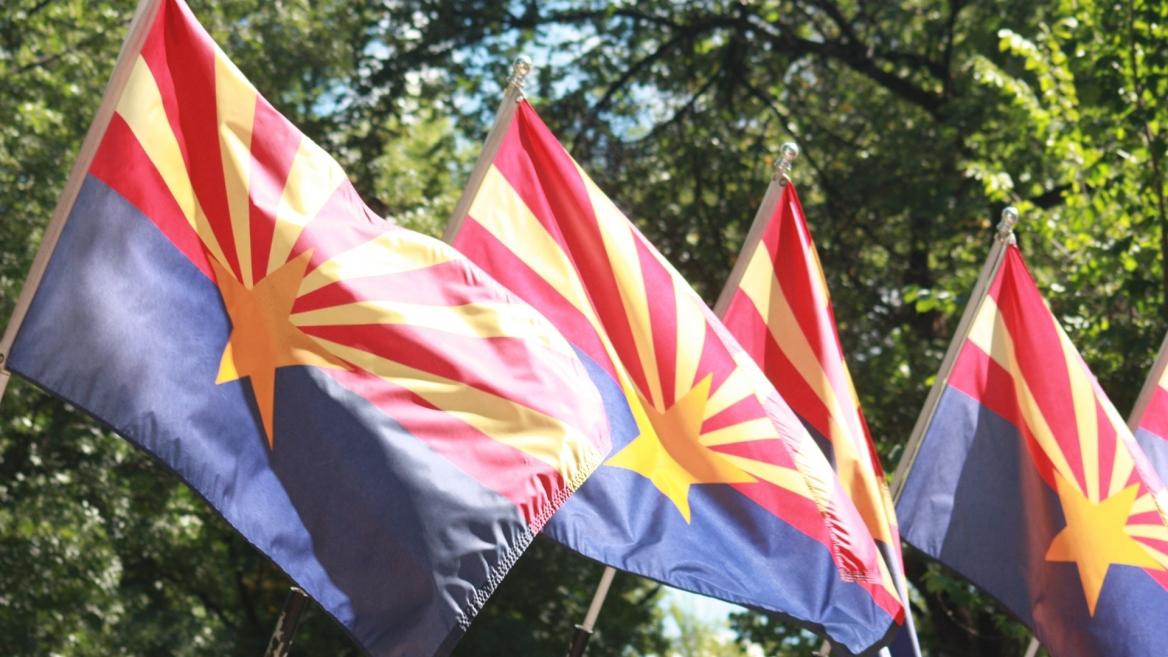 Arizona state flags