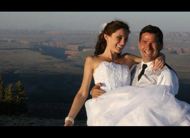 Andrew Holycross and Ioana Hociota wedding Grand Canyon