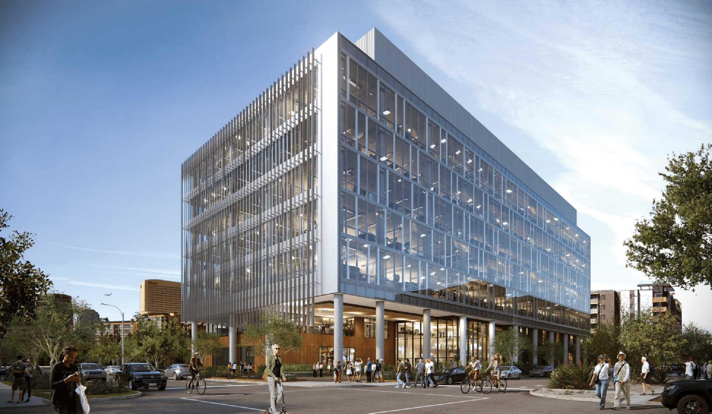 Artist rendering of Wexford Building in downtown Phoenix