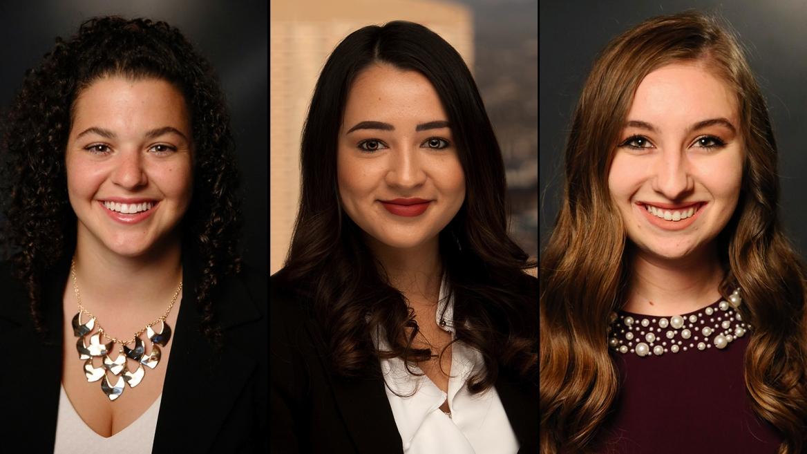 Three women in law