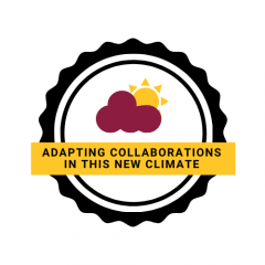 adapting collaborations in this new climate logo