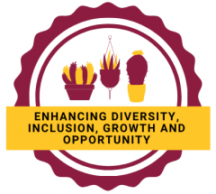 enhancing diversity, inclusion, growth and opportunity logo